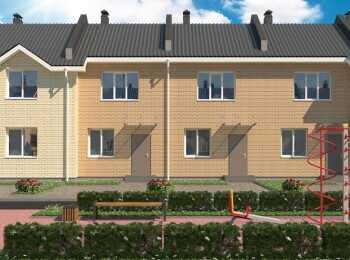 2-этажные дома в жилом комплексе Федоровское